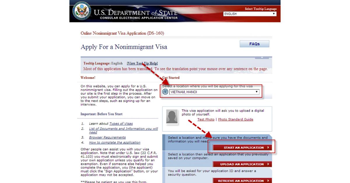 Làm visa Mỹ online và những lưu ý đắt giá từ Kem holiday