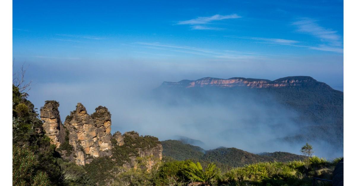 Núi xanh - Blue Mountains, ngọn núi kỳ lạ ở Australia